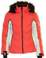 DIEL Cecile, womens ski jacket, coral