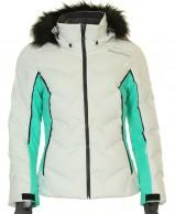 DIEL Cecile, womens ski jacket, swan