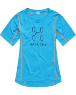 Haglöfs Intense Logo Tee Women, blue