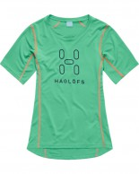 Haglöfs Intense Logo Tee Women, green