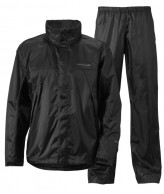 Didriksons Main Mens Set, Rain Suit, black
