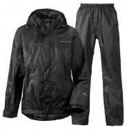 Didriksons Main Boys Set, Rain Suit, black