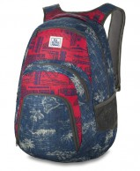 Dakine Campus 33L, red/grey