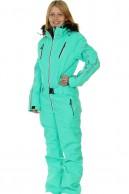 DIEL Ski Spirit ski overall, women, Aqua Green