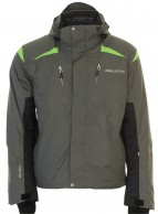 DIEL Cecar ski jacket, men, grey
