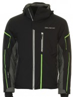 DIEL Dominic ski jacket, mens, black