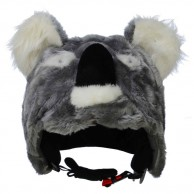 CrazeeHeads helmet cover, Kookie the Koala