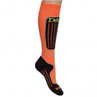 Deluni ski socks, 1pair, orange