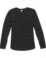 Haglöfs Actives Merino II Roundneck Women, black