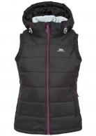 Trespass Redvale Womens artificial down vest, black