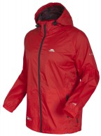 Trespass Qikpac, red, unisex rainjacket