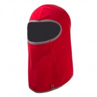 Kama fleece balaclava, ultra light, red
