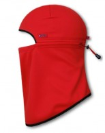 Kama softshell face mask, red