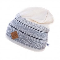 Kama Fashion knitted beanie, off white