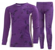 Helly Hansen JR Warm, 2-Pack, purple