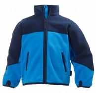 Helly Hansen K Fleece Jacket for kids and junior, blue/dark blue