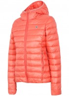 4F Freja Womens artificial down jacket, coral