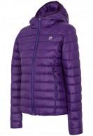 4F Freja Womens artificial down jacket, violet