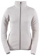 2117 of Sweden Idala womens fleece jacket, white