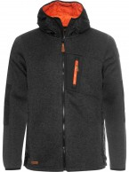 Weather Report, Marco fleece jacket, black melange