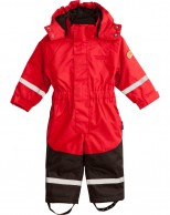 Weather Report Tusi, Ski Overall, Kids, red