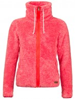 Protest Riri womens fleece jacket, pink