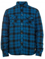 Protest Saul fleece shirt, blue