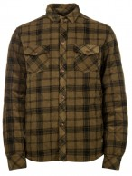 Protest Saul fleece shirt, green