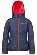 Protest Moio JR girls ski jacket, blue