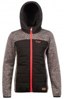 Protest Indras JR, girls fleece jacket, black