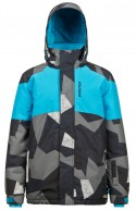 Protest Milos JR boys ski jacket, black