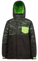 Protest Gib JR boys ski jacket, green