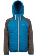 Protest Aeron JR, boys fleece jacket, blue/black