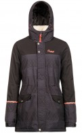 Protest Motella womens ski jacket, black