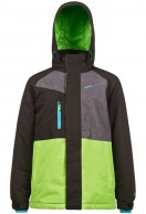 Protest Branton JR boys ski jacket, green