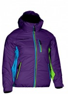 DIEL Kids ski jacket, purple
