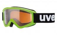 Uvex Speedy Pro, Kidds ski goggle, green