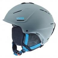 Uvex p1us ski helmet, grey/blue
