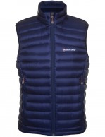 Montane Featherlite Down Vest, blue