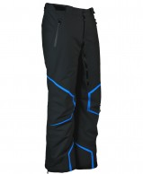 DIEL Axel mens ski pants, black/blue