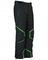 DIEL Axel mens ski pants, black/green