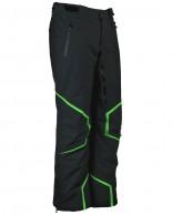 DIEL Axel mens ski pants, black/green