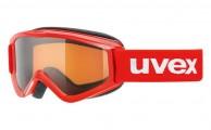 Uvex Speedy Pro, Kids ski goggle, red