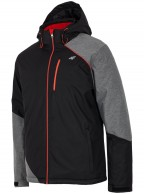 4F Faeton ski jacket, men's, black