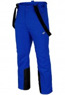 4F Aquatech ski pants, men, blue