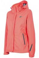 4F Ella womens ski jacket, coral