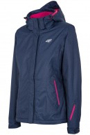 4F Ella womens ski jacket, blue