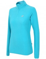4F Microtherm fleece shirt/pulli for women, turquoise