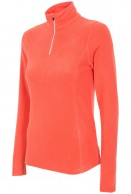 4F Microtherm fleece shirt/pulli for women, coral