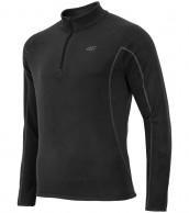 4F Microtherm childrens fleece underwear, shirt, black